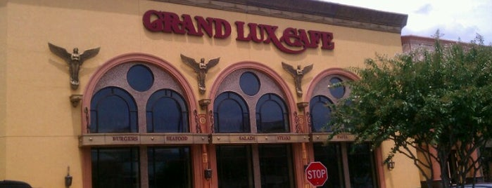 Grand Lux Cafe is one of BLee's Favorite Food.