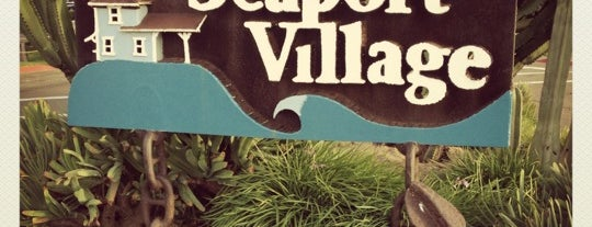 Seaport Village is one of I've been here.