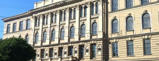 Санкт-Петербургский государственный технологический институт (СПбГТИ) is one of Места для онлайн трансляций.