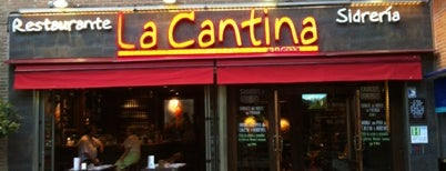 La Cantina is one of Places in Madrid.