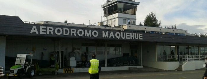 Aeródromo Maquehue is one of Checkin/Checkout.