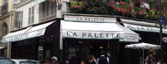 La Palette is one of Quartier Latin.
