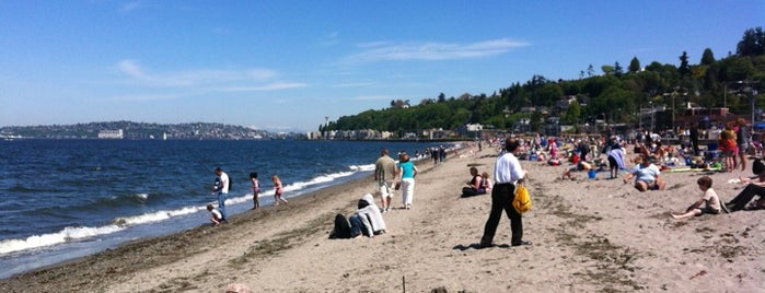 Alki Beach Park is one of Seattle's Best Great Outdoors - 2013.