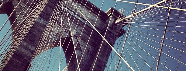 Under The Brooklyn Bridge is one of Architecture - Great architectural experiences NYC.