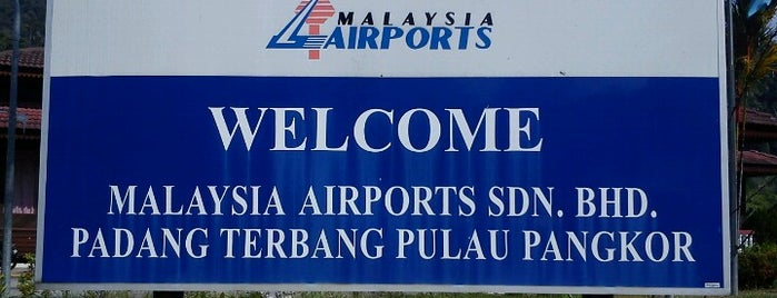 Pangkor Airport (PKG) is one of Go Outdoor, MY #6.