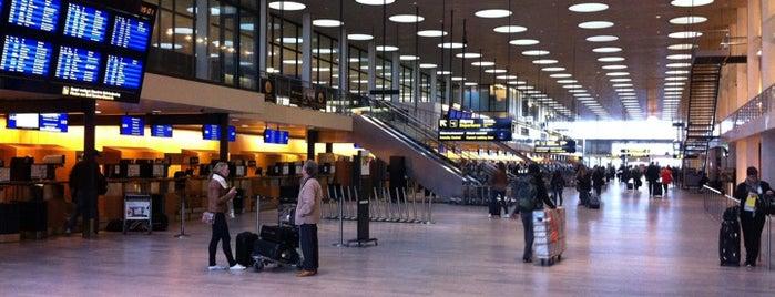 Terminal 2 is one of Copenhagen.