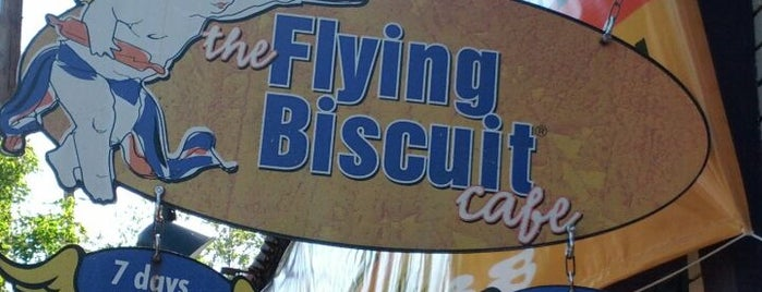 The Flying Biscuit Cafe is one of Atlanta.