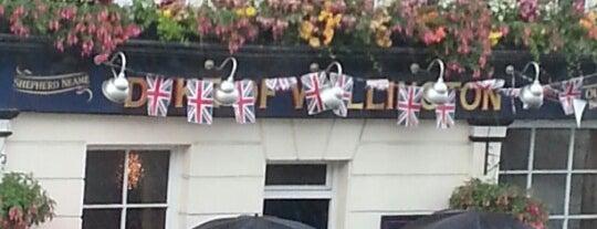 Duke Of Wellington is one of Best London Pubs.