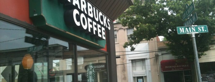 Starbucks is one of food of suburbia.
