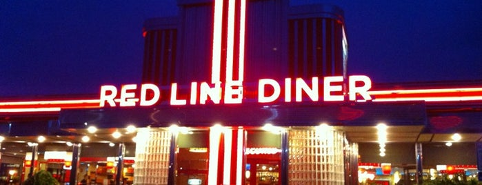 Red Line Diner is one of Actual Diners.