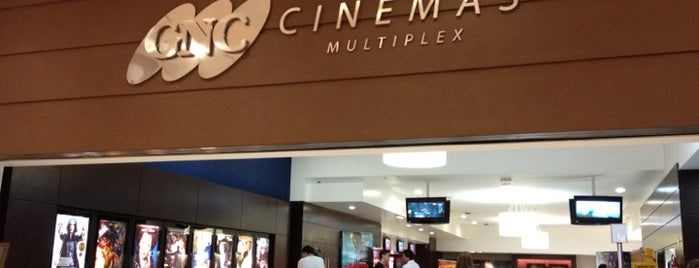 GNC Cinemas is one of Meus lugares.