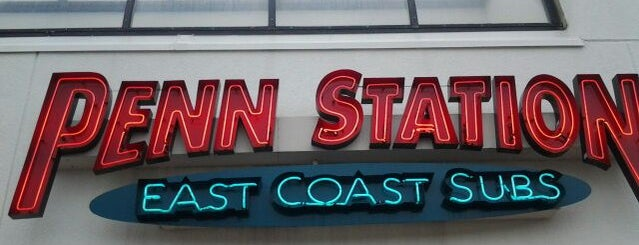 Penn Station East Coast Subs is one of Top picks for Sandwich Places.