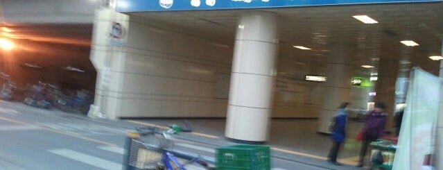 Jungnang Stn. is one of Subway Stations in Seoul(line1~4 & DX).