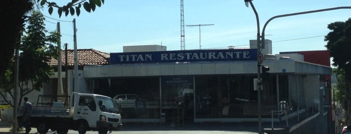 Titan Restaurante is one of Fábio.