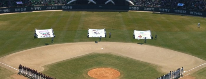 Jamsil Baseball Stadium is one of Seoul #4sqCities.