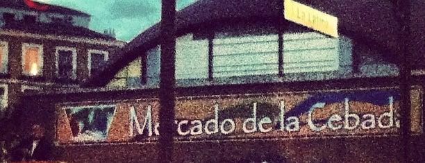 Metro La Latina is one of Madrid, baby!.