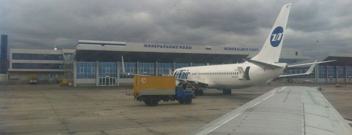 Mineralnye Vody International Airport (MRV) is one of Free WiFi Airports 2.
