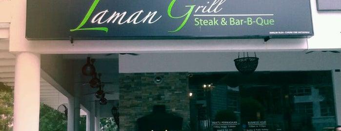 Laman Grill Steak & Bar-B-Que is one of jalan2 cari makan seksyen 13 shah alam.