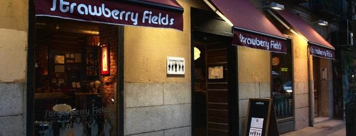 Strawberry Fields is one of Madrid; Feed·Manger.