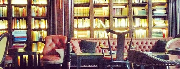The Library at The NoMad is one of Bars.