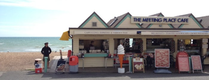 The Meeting Place Cafe is one of Hove's best spots for a drink and a sit down.