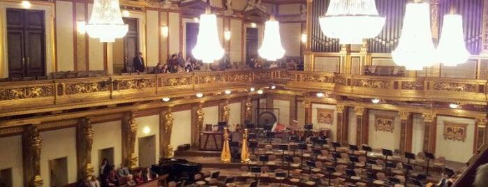 Musikverein is one of StorefrontSticker #4sqCities: Vienna.