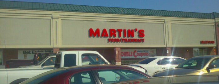 Martin's Food Market is one of places i go often.