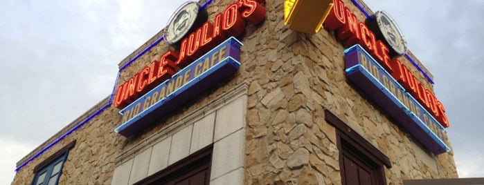 Uncle Julio's Rio Grande Cafe is one of Favorite places to get food!.