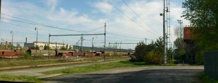 Železniční stanice Plzeň–Koterov is one of Železniční stanice ČR: P (9/14).