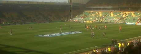 Carrow Road is one of Football grounds visited.