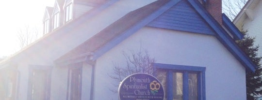 Plymouth Spiritual Church is one of Sacred Sites in Upstate NY.