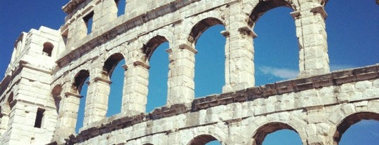 Arena Pula | The Pula Amphitheater is one of Kroatien.
