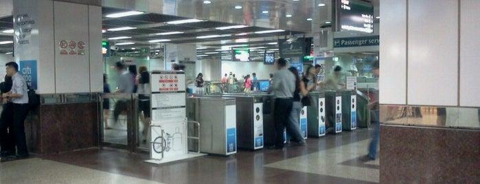 City Hall MRT Interchange (EW13/NS25) is one of MRT: East West Line.