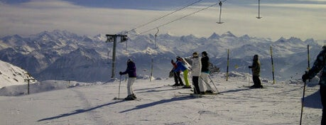 Plaine Morte is one of 36 hours in...Crans-Montana.