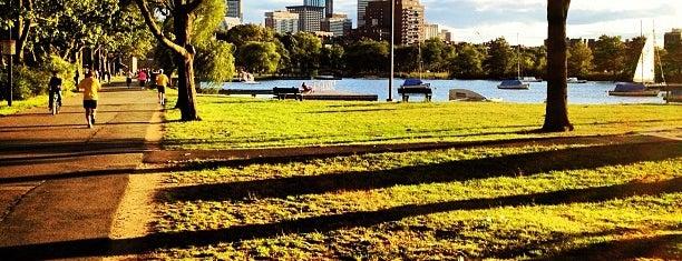 The Esplanade is one of Boston.