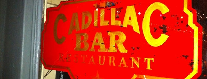 Cadillac Bar is one of San Antonio.