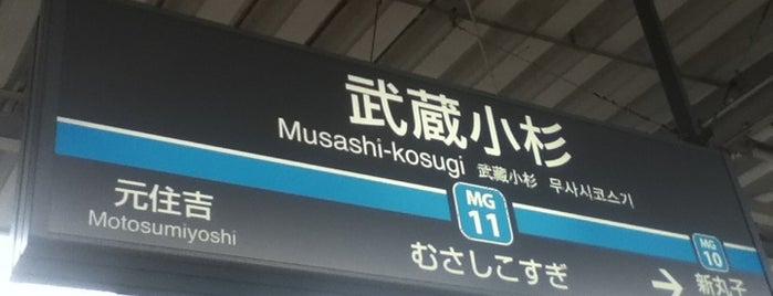 Musashi-Kosugi Station is one of Station - 神奈川県.