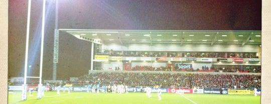 Kingspan Stadium is one of UK & Ireland Pro Rugby Grounds.