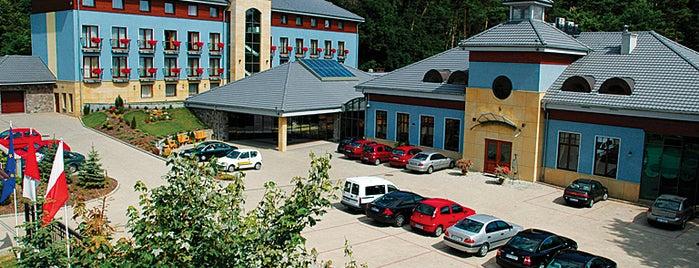 Hotel Cztery Pory Roku is one of Noclegi i SPA #4sqcities.