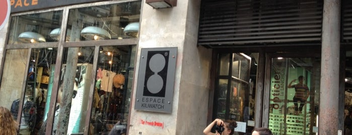 Espace Kiliwatch is one of HangOuts x Shops x Sport.