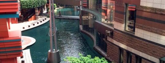 Canal City Hakata is one of FUKUOKA.