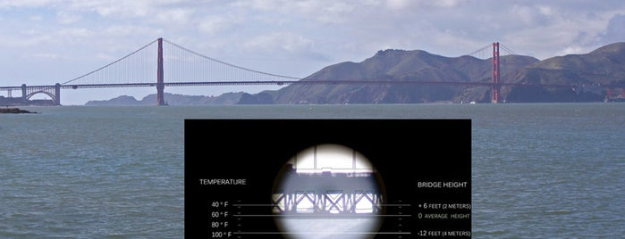 Golden Gate Bridge is one of Science Around The Bay.
