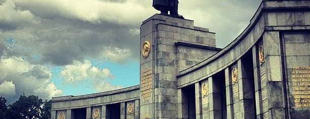 Sowjetisches Ehrenmal Tiergarten is one of Berlin.
