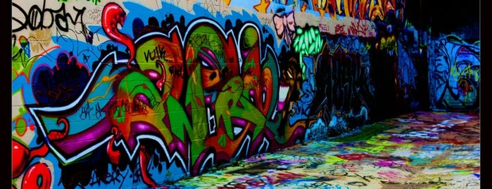 Graffiti Alley is one of Ssh! These places aren't for everybody..