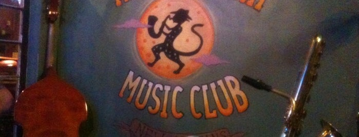 The Spotted Cat Music Club is one of New Orleans, LA.
