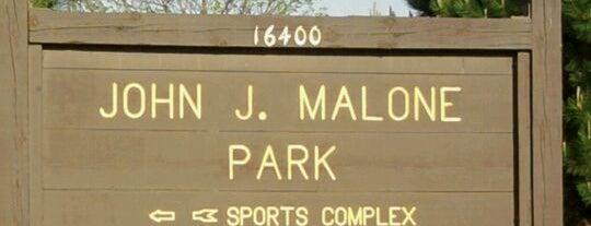 John J Malone Park is one of Best of New Berlin.