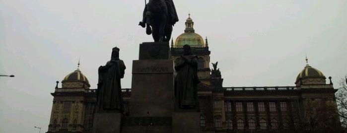Socha svatého Václava is one of Historická Praha.