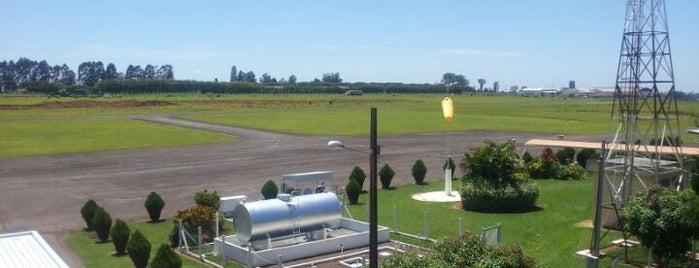 Aeroporto de Arapongas / Alberto Bertelli is one of Aeroportos do Brasil.