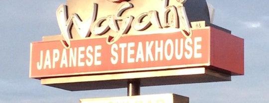 Wasabi Japanese Steakhouse & Sushi Bar is one of Favorites.