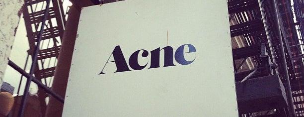 Acne Studios is one of NYC, yo..